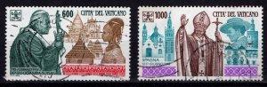 Vatican City 1994 Pope John Paul II's Journeys, Part Set [Used]