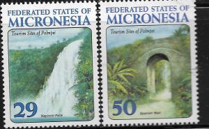 MICRONESIA, 179-180, MNH, FEDERATION STATES OF MICRONESIA