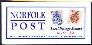Booklet - Norfolk Island 1997 Norfolk Post $2 booklet com...