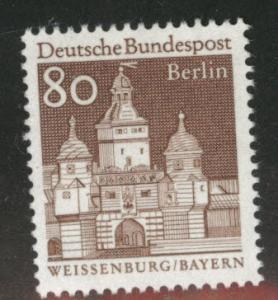 Germany Berlin Occupation Scott 9N245 MNG from 1966-69 set