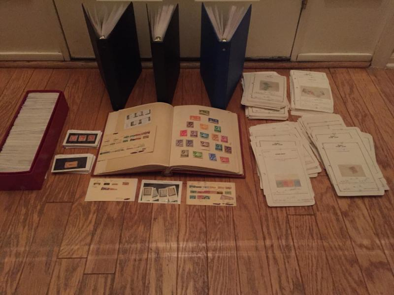 BRITISH COMMONWEALTH / COLONIES & WW DEALER STOCK COLLECTION LOT CV $31,000+