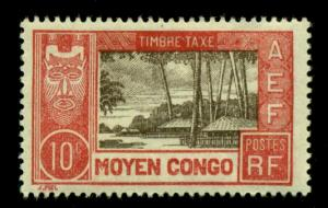 Middle Congo 1930 #J13 MH SCV(2018)=$1.40