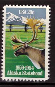 USA Scott 2066 MNH** CariboutAlaska pipeline stamp