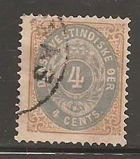 Danish West Indies  SC  7  Used