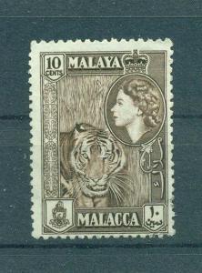 Malaya - Malacca sc# 50 used cat value $.25