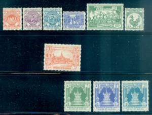 Burma #139//152  Mint H  CV$30.75  Missing #145, 147-149