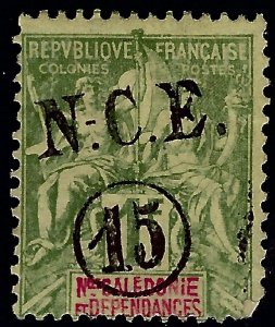 New Caledonia #63 Mint Fine corner fault....French Colonies are Hot!