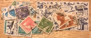 India Scott#903...914a, 916 Group of 40 stamps F/VF Used Cat. $8.00