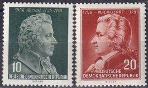 DDR #278-9 MNH CV $12.00  (Z3927)