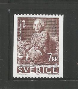 SWEDEN,  1552, MNH, BARON CARL FREDERIK