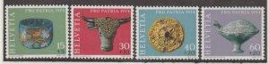 Switzerland Scott #B422-B425 Stamps - Mint NH Set