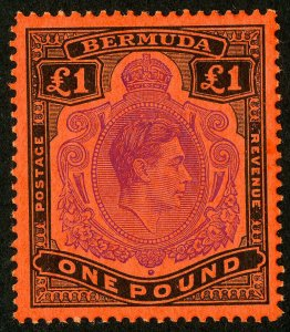 Bermuda Stamps # 128 MVLH Jumbo