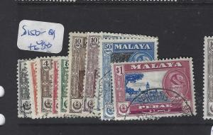 MALAYA PERAK (P1409B)   SG 150-9   VFU