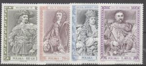 Poland Scott 3479-82 MNH** 1999 set