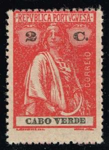 Cape Verde #167 Ceres; Unused (0.25)