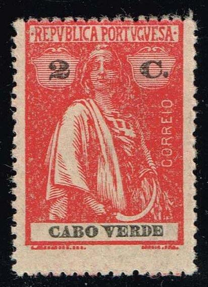 Cape Verde #167 Ceres; Unused (0.25)