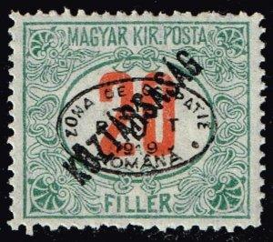 HUNGARY STAMP Debrecen 1919 POSTAGE DUE 20F  MH/OG
