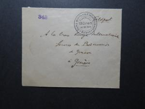 Switzerland WW2 Censor POW Cover to Geneva (IV) - Z11549