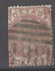 COLLECTION LOT # 2150 GREAT BRITAIN #53 p1 1867 CV+$350 FAULTY