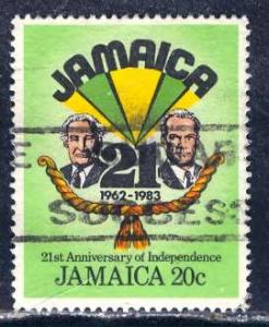 Jamaica; 1983: Sc. # 561: O/Used Single Stamp