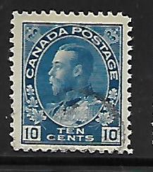 CANADA, 117, USED, KING GEORGE
