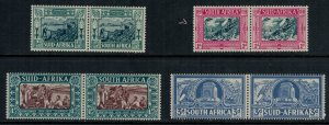 South Africa #B5-8* pairs   CV $72.50