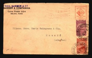 Brazil 1931 Airmail Cover to Mexico (Back Partial Missing) - Z17046