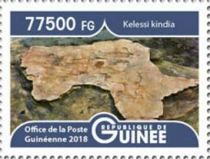 Guinea - 2019 Landscapes Kelessi Kindia - Stamp - GU1801local02a