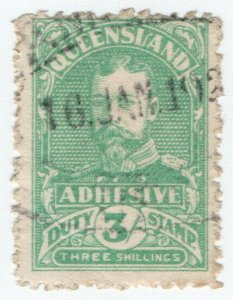 (I.B) Australia - Queensland Revenue : Adhesive Duty 3/-