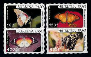 [70709] Burkina Faso 1984 Insects Butterflies Airmail Stamps MNH