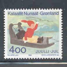 Greenland Sc 265 1993 Christmas stamp mint NH
