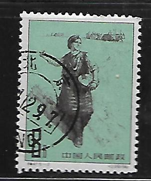 PEOPLE'S REPUBLIC OF CHINA, 601, USED, WOMAN  SOWER