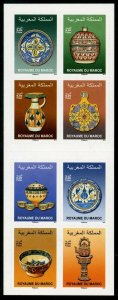HERRICKSTAMP NEW ISSUES MOROCCO Pottery Self-Adhesive Booklet