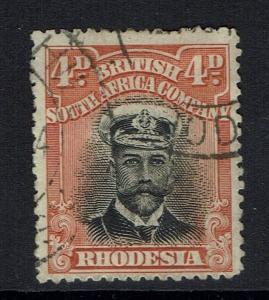 Rhodesia SG# 245 - Perf 15 (Hinge Rem) - Used - 051516