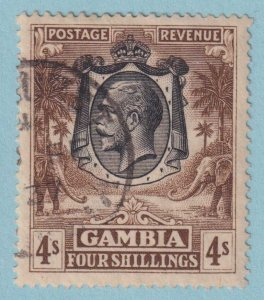 GAMBIA 118 USED NO FAULTS EXTRA FINE