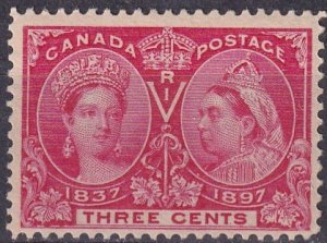 Canada #53 F-VF  Unused  CV $30.00   (Z4204)