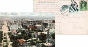 United States Nebraska U. Dep. Postal Sta. Omaha 1910 numeral duplex  DPO  PP...