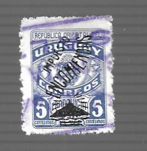 Uruguay 1948 - U - Scott #Q75