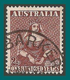 Australia 1950 Stamp Centenary, used  229,SG240