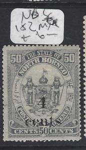 NORTH BORNEO  (P1209B)  4C/50C   SG 182  MOG