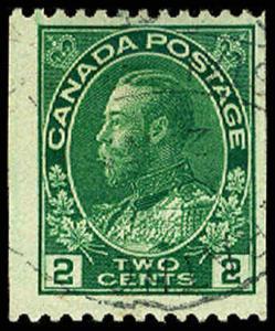 CANADA-f-b-1903-1926 ISSUES (89-140) 133  Used (ID # 64620)