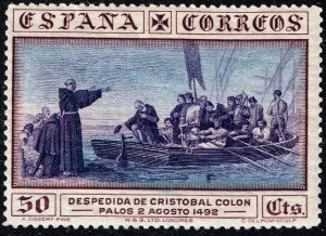 SPAIN STAMP 1930 Columbus and the Discovery of America - Ships 30C MH/OG STAMP