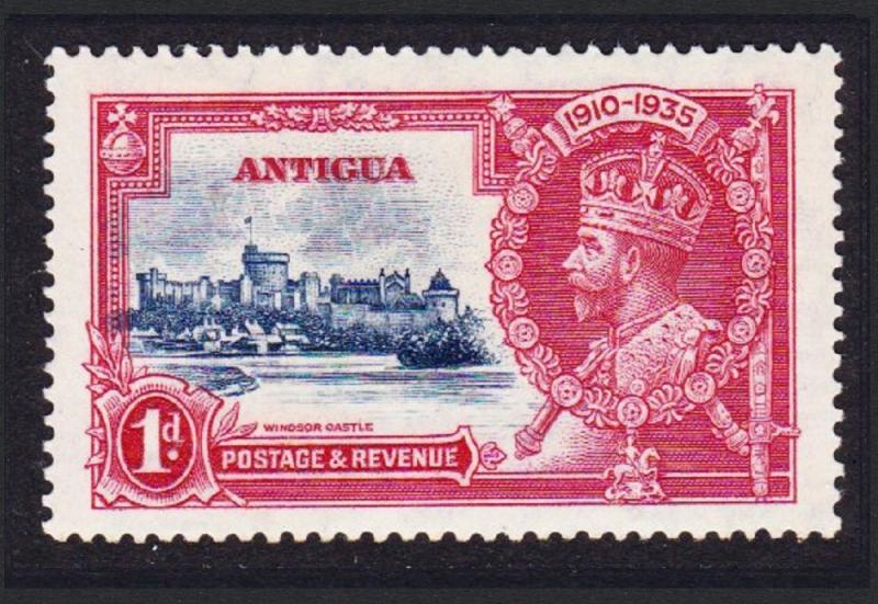 Antigua and Barbuda George V Silver Jubilee 1v 1d MH SG#91