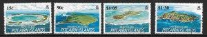 PITCAIRN ISLANDS SG352/5 1989 ISLANDS FINE USED