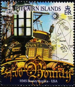 Pitcairn Islands. 2007 $4 Fine Used
