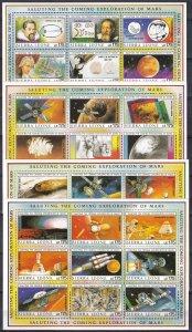 Sierra Leone #1167-70 MNH CV $80.00 (Z4478L)
