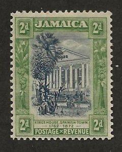 JAMAICA SC# 91  F/MOG