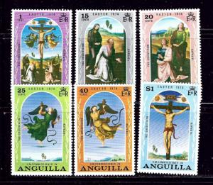 Anguilla 187-92  MNH 1974 Easter