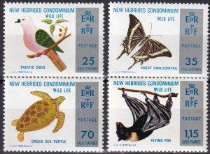 New Hebrides (Br) #183-6  MNH  CV $7.00  (Z8049)