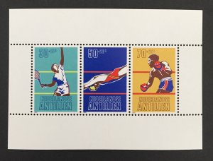 Netherlands Antilles 1981 #B188a S/S, Sporting Events, MNH